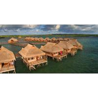 Buy cheap Yellow Overwater Bungalow from wholesalers