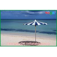 Quality Promotional Beach Parasol Custom Printed Compact Windproof Umbrella for sale