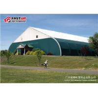 Curve Clearspan 15 X 20 Frame Tent , Sporting Event Tents For Tennis Fireproof for sale