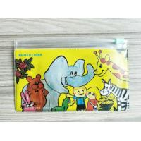 Quality Customized Reusable Ziplock Bags , Full Color Print Pupil Plastic Zipper Bags for sale