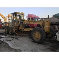 Buy cheap Original Color Used Komatsu Motor Grader 135hp Engine Power 4.9L Displacement from wholesalers