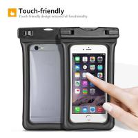 Buy cheap Fully Submersible Waterproof Smartphone Case , Small Waterproof Bag With Air - Filled Frame from wholesalers