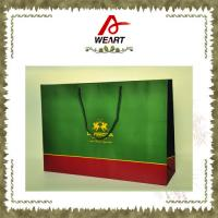 Quality OEM Logo Printed Fashion Paper Carrier Bag , Colorful custom retail shopping bags for sale