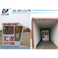Tower Crane Spare Parts Cab QTZ Tower Crane Cabin With Simple Operating for sale