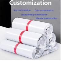 Quality Eco Friendly Custom Printed Pink Postal Poly Mailer Envelopes Mailing Bags, BIODEGRADABLE, COMPOSTABLE, CORN STARCH, PAC for sale