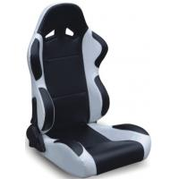 Quality Black And Grey Racing Seats Fully Reclinable + Slider Universal 1 Pair Jbr 1004 Series for sale