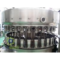 Quality Powerful  Automatic Aluminum Can Filling Machine For Beverage Juice / Beer Soda for sale