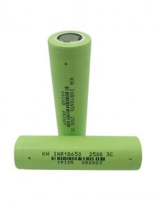 Quality High Power 3.7 V 2500mAh 18650 Lithium Ion Battery for sale
