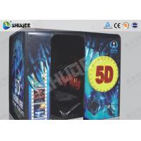 Quality Electronic Red / Black 5D Movie Theater Kino With More Than 500 Pecice Films for sale