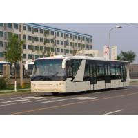 Buy Compacting Body Luxury Airport Shuttles Aero Bus With IATA Standard at wholesale prices