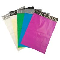 Buy Strong glue Colored Self-Seal 10 x 13 poly mailer bags for shipping clothes at wholesale prices