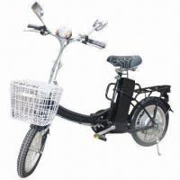China 180 to 250W Folding Electric Bike with 220/110V AC, 50/60Hz Charger and 25/32km/Hour Speed on sale