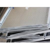 Quality White Hook On Ceiling System , Antistatic  Aluminum False Ceiling  By Smooth  Surface for sale