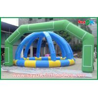 Quality Commercial Outdoor Green Inflatable Archway For Promotion W7mxH4m for sale