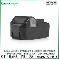 China Cordless tool battery of Hitachi BSL1830, DS18DSAL, BSL1815X,330139, 330557, BSL 1815X on sale