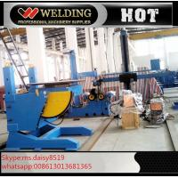 Quality Lifting Height Adjustable Pipe Welding Rotary Positioner High Precision 300kg Manual Revolve for sale