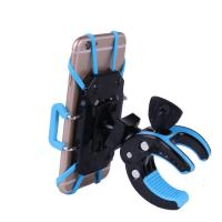Quality Waterproof Bag Phone Holder For Bike , ABS / PC Black Phone Mount Holder for sale