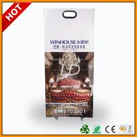 Buy Glossy Lamination Cardboard Trolley With Handle And Wheels For Exhibition at wholesale prices
