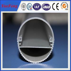 Quality 6000 series led aluminum profile for led strip lights, alu heating radiator led light bars for sale