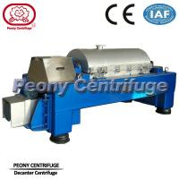 Quality Automatic  Decanter Centrifuge / Centrifuge Filter System For Calcium Hypochlorite Dewatering for sale