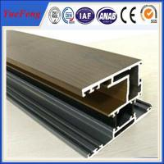 Quality thermal break aluminium windows and doors frame price per sq.m for sale