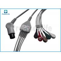 Quality Normal use Round 6 pin one piece type ECG Monitor Cable 3.6 meters for patient monitor for sale