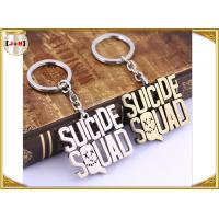 Quality Various Design Personalised Metal Letter Keyrings , Personalized Name Keychains For Him for sale