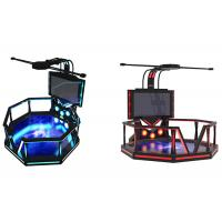 Quality Indoor Electronic 9D Virtual Reality Game Simulator For Shopping Mall for sale