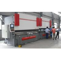 Quality High Accuracy Sheet Metal Hydraulic Shearing Machine CNC Press Brake with Italy CNC System for sale