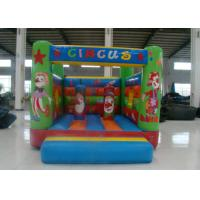 Quality Amusement Park Inflatable Jump House , Small Indoor Bounce House 3.5 X 4 X 2.5m for sale