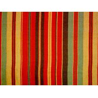 Quality Tear - Resistant Printed Cotton Canvas With Multi Coloured Stripe for sale