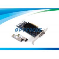Quality 10 Gbps PCI Express Lan Card Quad Port Server Adapter LC Fiber IEEE802.3 for sale