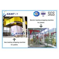 Quality Gas Heating Pallet Wrapping Equipment , Automatic Wrapping Machine CE Certification for sale