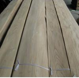 Quality Sliced Elm Wood Veneer Sheet Flower/Straight Cut for sale