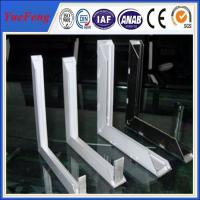 Quality 2015 new products solar panel aluminum frame from china manufacturer for sale