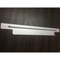 Buy 6061 T6 Aluminium Extrusion Profiles CNC Milling Matt Silver Anodized for Solar Bracket at wholesale prices