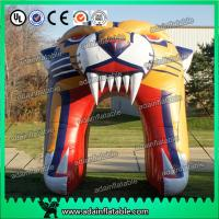 Quality Inflatable Tiger Head Entrance Tunnel Arch for sale