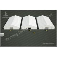 Quality 25x50 M Logistics Outdoor Warehouse Tents , Clear Span Fabric Buildings for sale