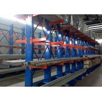 Quality High Capacity Long Span Cantilever Storage Racks For Steel / Furniture / Pipe Storage for sale