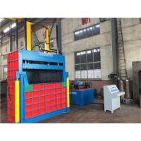 Quality ISO 21.5Mpa 160 Tons Vertical Baler Machine For Carton / Waste Cloth Sacks for sale
