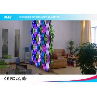 Quality Rental SMD 3 In 1 Flexible Led Display Panels , Soft Led Curtain Screen P10 for sale