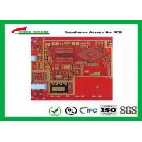 Buy Multilayer Pcb Manufacturing Impandence Control Circuit Board Pcb Layout Red at wholesale prices