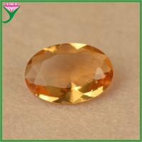 accessories supplies oval champagne glass semiprecious gems for jewelry