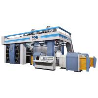 Quality Satellite Flexographic Printing Equipment , Flexo Printing Machine For Nonwoven 200 M / Min for sale