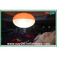 Quality Nylon Cloth Inflatable Led Tripod Ball , Inflatable Led Lighting Ball Decoration for sale