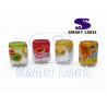 PET Plastic Custom Sleeve Printing on Shrink Plastic Bottle Eight Colors for sale
