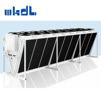Quality V type stainless steel axial fan air cooled condenser for airport for sale