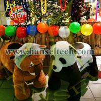 Quality Hansel Coin Operated Battery Animal Walking Scooter Animals China Animal Rides Aniaml Cars for sale