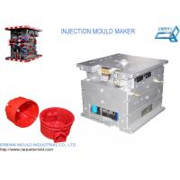 Quality Custom House hold Plastic Injection Molds Red Durable Spare Parts for sale