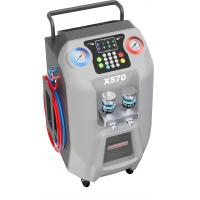 """Quality Can Refill R134a AutoAC Refrigerant Recovery Machine  5"""" LCD Color Display for sale"""